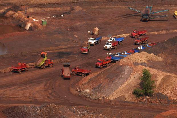 A file photo of one of Goa's coal mines. Photo: Abhijit Bhatlekar/Mint