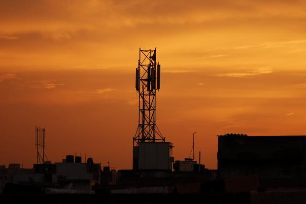 A file photo of a mobile tower, New Delhi. Photo: Pradeep Gaur/Mint