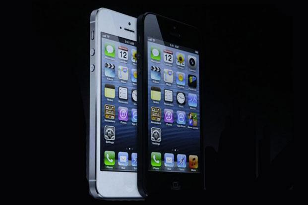 A file photo of iPhone 5. Photo: AP