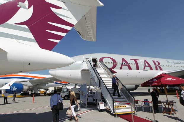 Qatar Airways may also be in the race for investing in Indian carriers, including Kingfisher Airlines. Photo: AFP