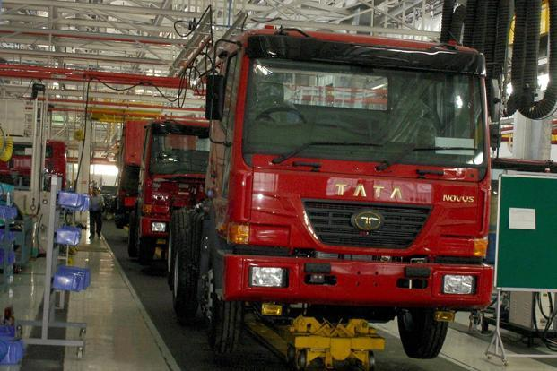 The impact may be higher on Ashok Leyland than on Tata Motors as 80-90% of its sales comprises lorries.  (The impact may be higher on Ashok Leyland than on Tata Motors as 80-90% of its sales comprises lorries. )