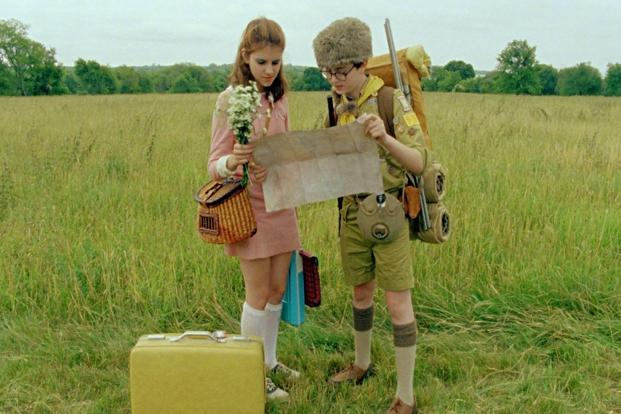 A still from the movie Moonrise Kingdom