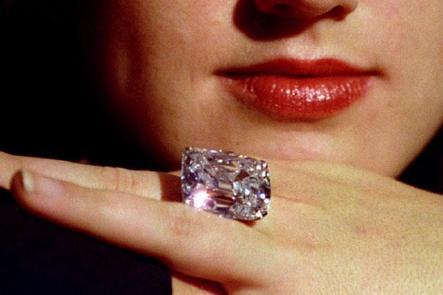A file photo of the Archduke Joseph Diamond. Photo: Simon Kreitem/Reuters