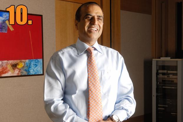 Sunil Bharti Mittal, chairman and managing director, Bharti Airtel. His package for 2011-12 was <span style=