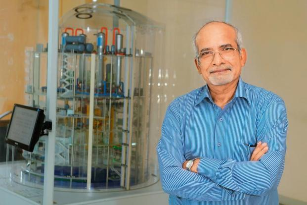 Atomic scientist B.N. Jagtap says scientists need to communicate with society. Photo: Abhijit Bhatlekar/Mint.