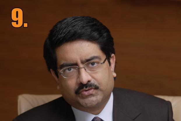Kumar Mangalam Birla, chairman, UltraTech Cements, was paid <span style=