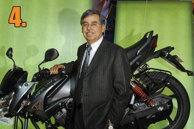 Pawan Munjal, Hero MotoCorp&rsquo;s managing director and chief executive, received a package of <span style=