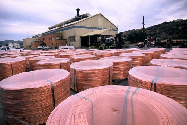 The demand-supply situation for copper remains in favour of producers. Photo: Hindustan Times