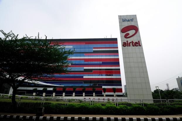 A file photo of Bharti Airtel's office in Gurgaon, Haryana. Photo: Pradeep Gaur/Mint