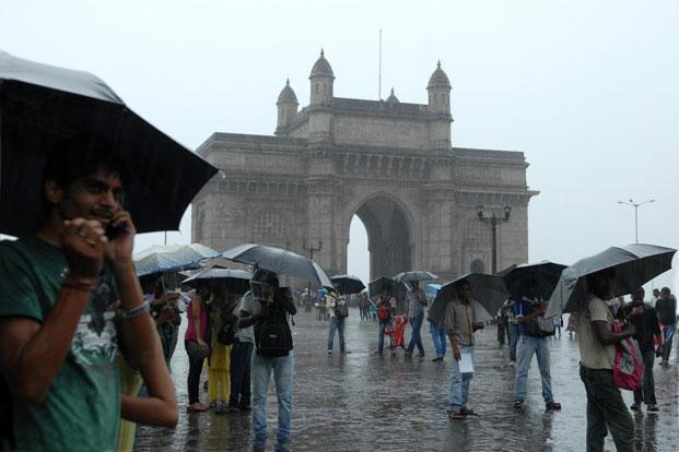Image result for gate of india on monsoon