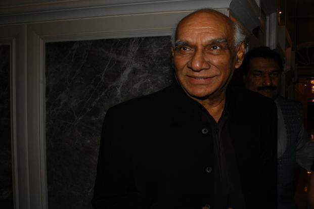 Yash Chopra on Thursday said he had had enough of direction, and that he would like to instead mentor younger film-makers and nurture his studio in suburban Andheri. Photo: Hindustan Times
