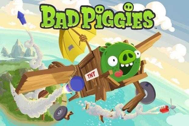 Bad Piggies is available for iPod Touch and iPhone users for $0.99, and for $2.99 you get the HD iPad version. Photo: Rovio