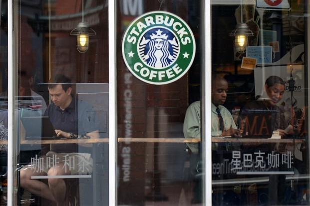 Tata Starbucks will open an outlet at Horniman Circle in downtown Mumbai by the end of October. Photo: AFP