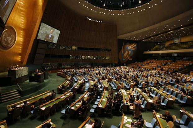The 67th session of the UN General Assembly at its headquarters in New York. Photo: Mike Segar/Reuters