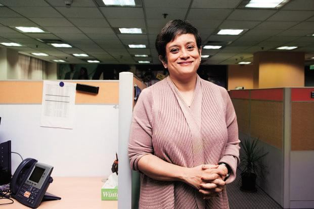 Ghosh says one big priority for her is to make technology transformation a national agenda. Photo: Ramesh Pathania/Mint (Ramesh Pathania/Mint)
