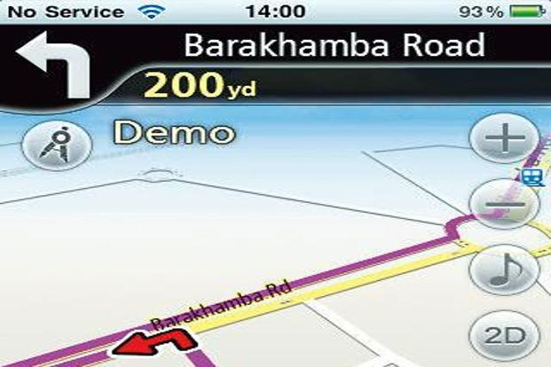 Navfree GPS Live India