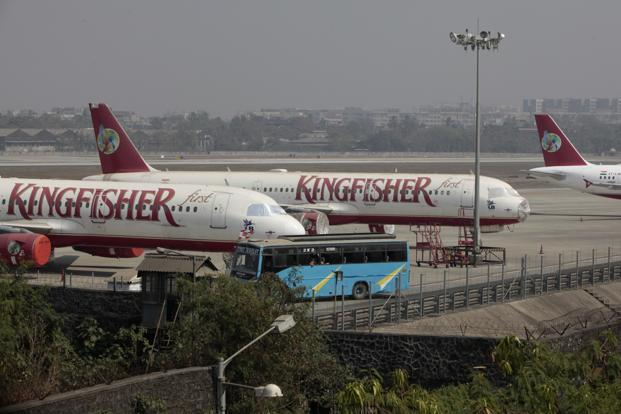 Most ground engineers and pilots have stopped working since Sunday, leading to a virtual grounding of the airline's fleet. Photo: Hindustan Times