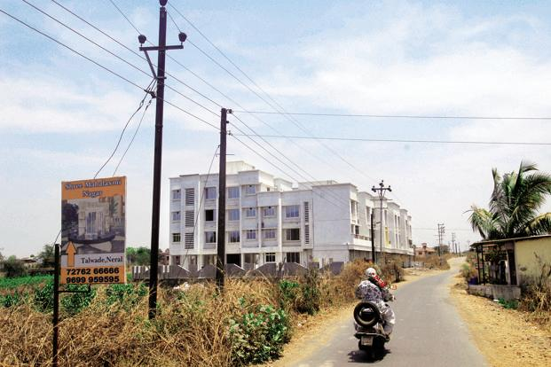 Towns like Neral have become a popular choices for second homes. Photo: Hemant Mishra/Mint