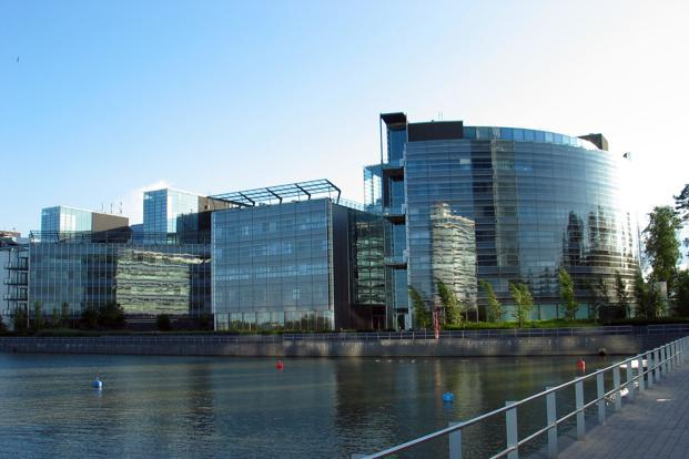 The Nokia corporate headquarters in Keilaniemi, Espoo, Finland. Photo: Wikimedia Commons