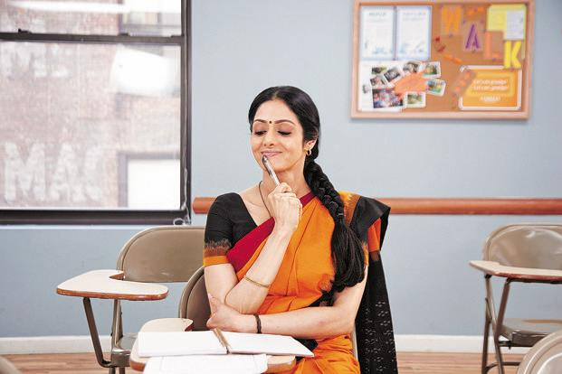 October marks the comeback of Sridevi in English Vinglish.
