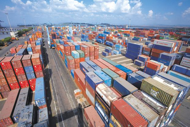 JN port is expected to handle 11 million standard containers by 2016 and 23 million by 2020, according to a 10-year plan unveiled by the shipping ministry in 2011. Photo: Hemant Mishra/Mint