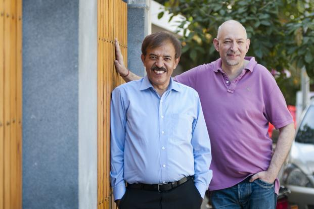 Lalit Ahuja (left) and Larry Glaeser. Photo: Mint