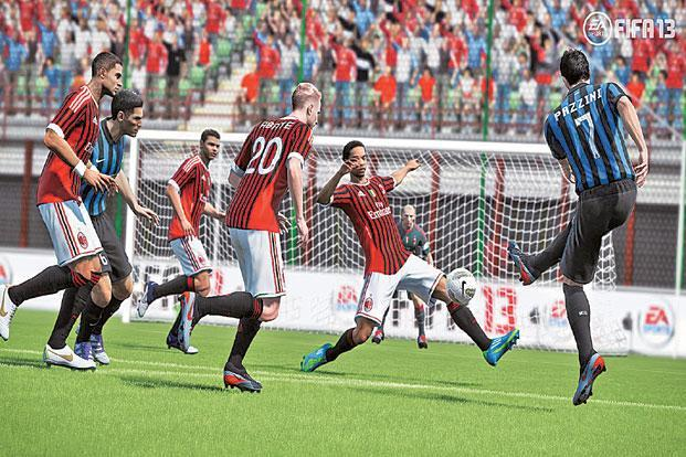 FIFA 13 is one of the best-looking sports games today