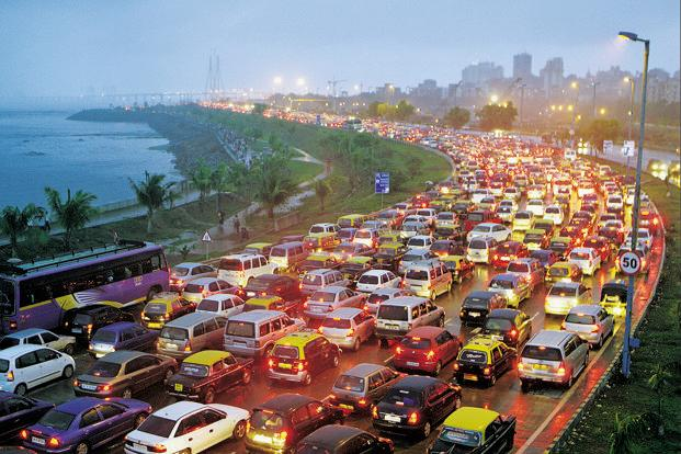 Image result for mumbai traffic jam