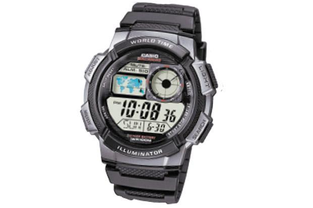 The Casio AE1000W World Time Illuminator