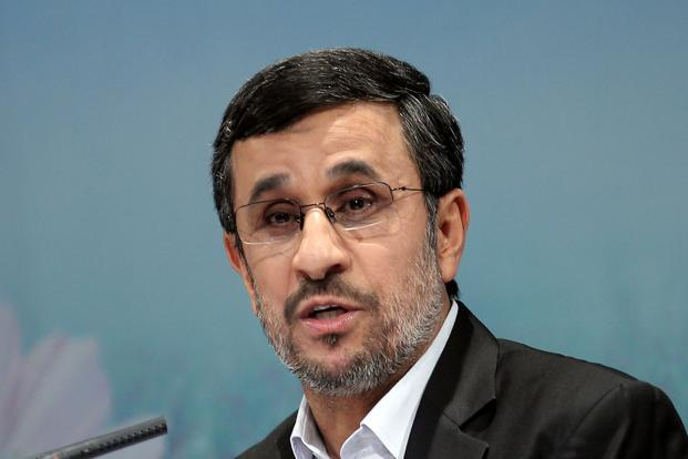 Iranian President Mahmoud Ahmadinejad: Photo: AFP