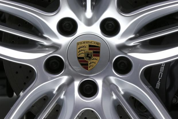 Porsche will sell its SUV Cayenne at `61.4 lakh for the lowest trim. Photo: Reuters
