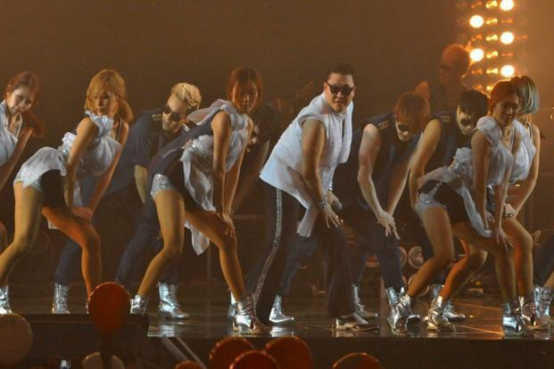 "The singer, PSY (short for ""Psycho"") says that the song (and of course, more importantly, the music video) is a satire on all those ""posers and wannabes"" who put on ""Gangnam style"" airs and ""are trying so hard to be something that they are not"". Photo: AFP"