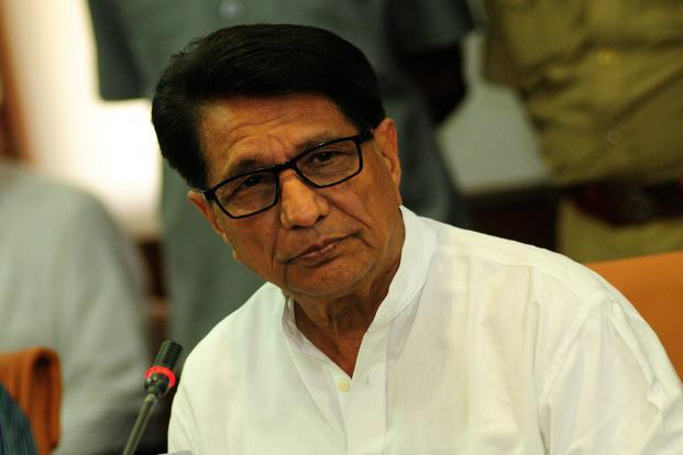 Aviation minister Ajit Singh. Photo: Pradeep Gaur/Mint