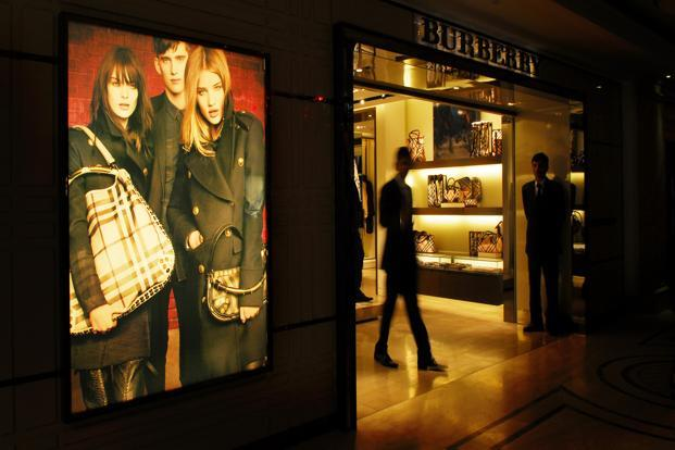 A Burberry store at DLF Emporio Mall in Saket, New Delhi. Photo: Priyanka Parashar/Mint