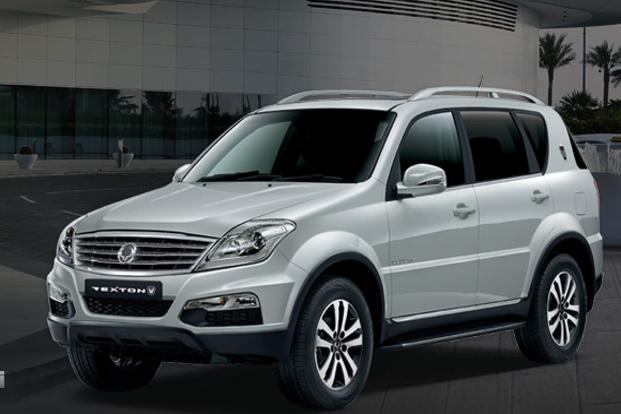 Ssangyong Motor Co.'s Rexton model . Car makers are hoping the new models and discounts will help revive sales in India, where high interest rates, slowing economic growth and rising fuel prices have depressed demand for cars