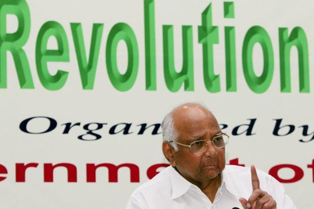 Sharad Pawar said that availability of foodgrain stock in the country would not be a problem and the country has surplus grains for exports as well. Photo: PTI