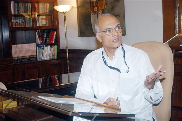 A file photo of Shiv Shankar Menon . Photo: HT (HT)