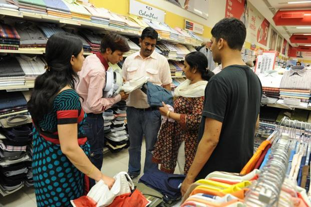 More than 75% of those surveyed said they would spend less than Rs 10,000 this festive season. Photo: Vijay Soneji/Mint.