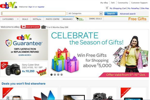 New Look Ebay Moves Toward Social Shopping Livemint