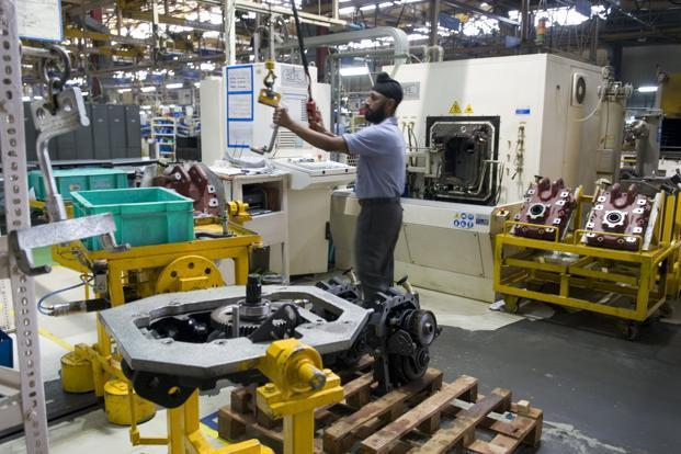 In the first five months of the fiscal year (April-August), IIP growth was flat at 0.4%. Photo: Mint
