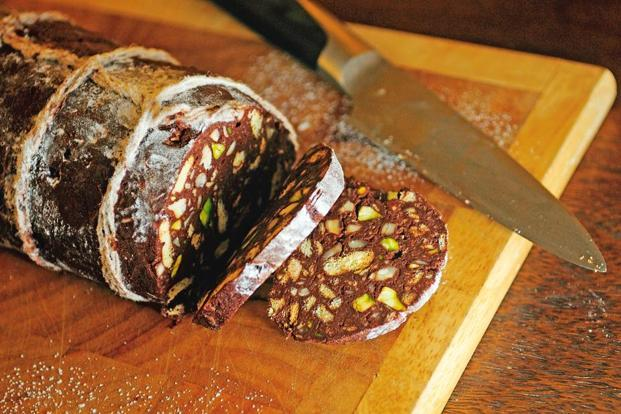 The Chocolate Salame Best Represents Nigella Lawson S Love Of Over Indulgence And Excess Photo