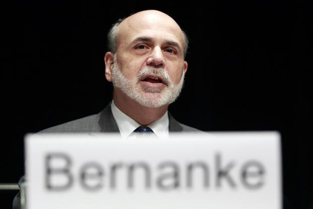 US Federal Reserve chairman Ben Bernanke. Photo: Reuters