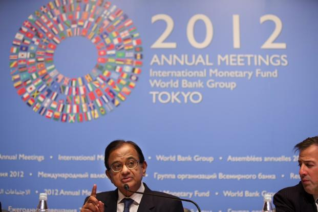 Finance minister P. Chidambaram. Photo: AP