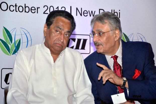 Urban development minister Kamal Nath (left). Photo: PTI