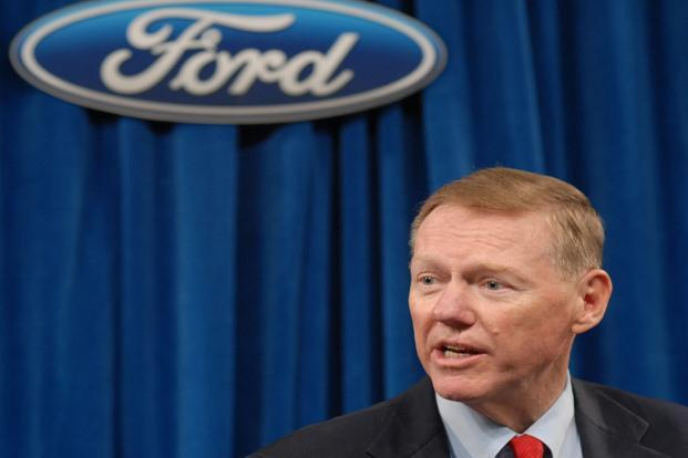 Ford Motor chief executive Alan Mulally. Photo: AFP