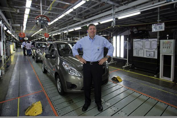 Lowell C. Paddock, president and CEO, General Motors India Pvt. Ltd. Photo: Reuters