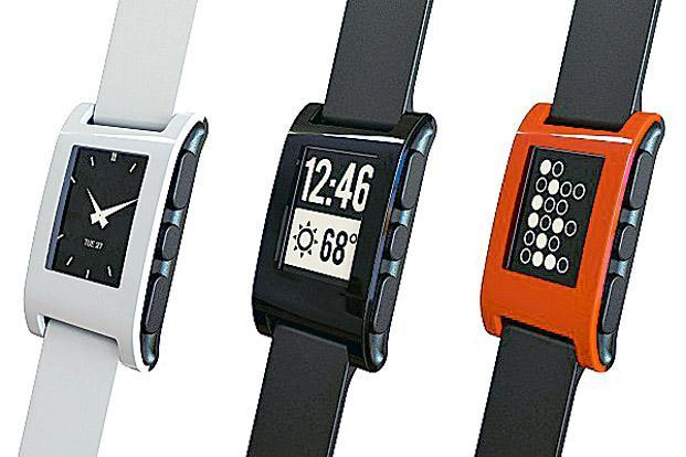 The Pebble smartwatches