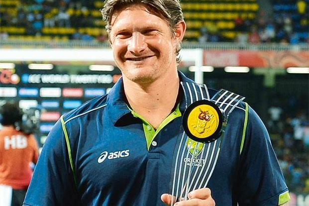 Club vs country: Australian cricketer Shane Watson. Photo: Lakruwan Wanniarachchi/AFP