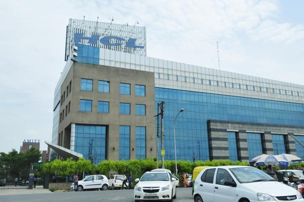 HCL said consolidated net profit rose to `885 crore from `497 crore for the year-earlier period. Photo: Ramesh Pathania/Mint