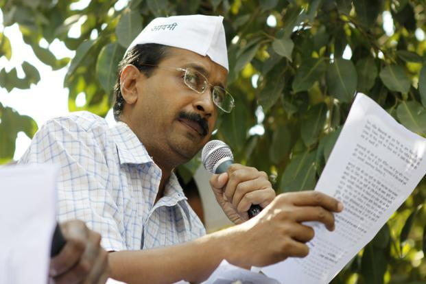 Activist-turned-politician Arvind Kejriwal. Photo: Sunil Saxena/Hindustan Times